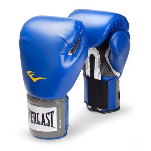 Боксерские перчатки Everlast PU Pro Style Blue 10 oz
